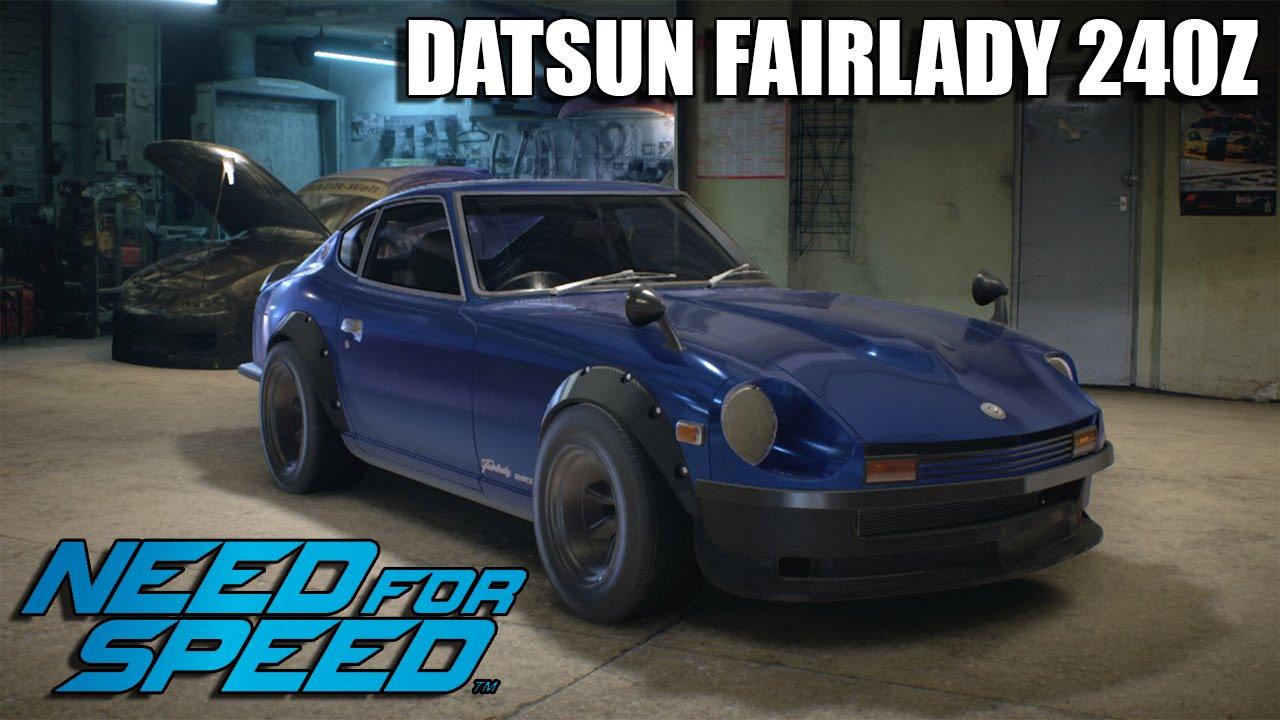 "【Need For Speed 2015】Datsun Fairlady 240z ''DEVIL Z"" - YouTube"