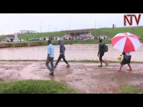 Heavy rains cause flooding all over Kampala