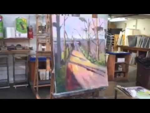 Braitman Studio's Creative Concepts in Painting Class Video