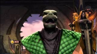 MK9 - Reptile Arcade Ladder Expert Run Through - Mortal Kombat 9 (2011)