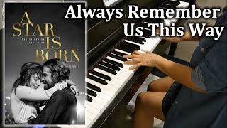 Lady Gaga - Always Remember Us This Way - Piano Cover & Sheets