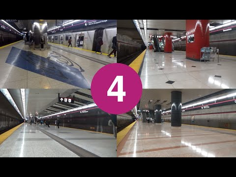 All TTC Line 4 Sheppard Station Tours