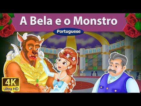 A Bela e o Monstro - Contos de Fadas - Histórias de Embalar para crianças - Portuguese Fairy Tales