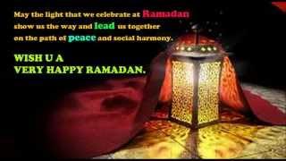 Beautiful Ramadan Mubarak Quotes, Wishes, Greetings, SMS, Whatsapp Video