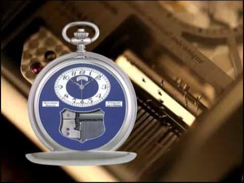 Антикварные карманные часы. Четвертной репетир. - YouTube