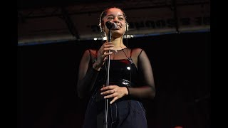 Ella Mai performs Bood Up live at the 2018 Baltimore Afram 4K Quality