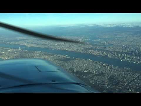 Mooney M20E - Over New York City area airspace