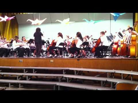 Kashmir cover/W. Babylon NY JHS Orchestra concert 5/2/2011