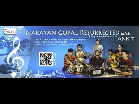 Yeti Dherai Maya Diyee | Narayan Gopal Adhunik Song Cover By Ankit Adhikari | Superhit Music Nepal