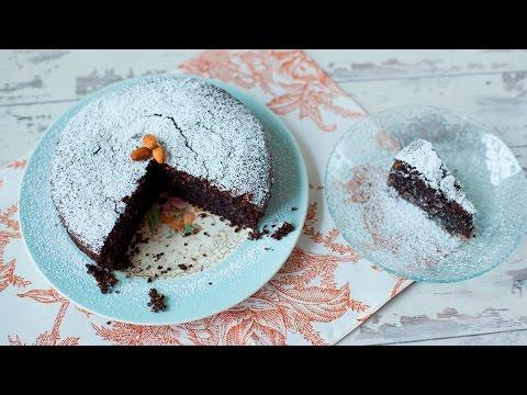 Torta caprese (Glutenfreier italienischer Schokoladenkuchen)