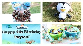 Octonauts Birthday Party!