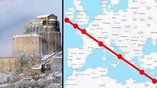 Эти 7 мировых святынь оказались расположены строго на одной линии и это не совпадение!