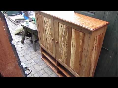 Making a Tool Cabinet - Part 8 Danish Oil Finish