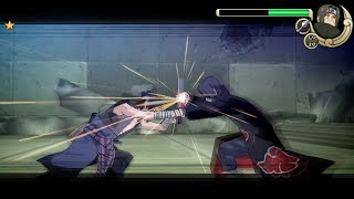 Naruto Shippuden Ultimate Ninja Impact Walkthrough Part 27 Sasuke vs Itachi Boss Fight (60 FPS)