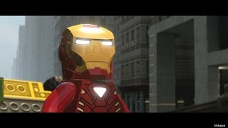 Lego Marvel Super Heroes Demo Gameplay