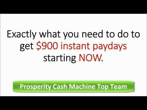 Prosperity Cash Machine Top Team Review