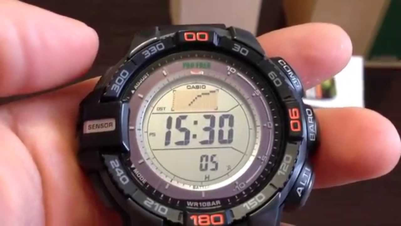 отзывы о casio prg-270