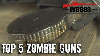 Top 5 Zombie Guns