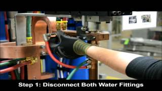 Removal and Installation of Upper Electrode on the FlexFast™ Welder