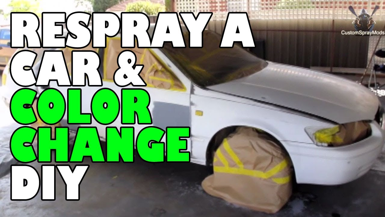 Respray a car and color change diy youtube respray a car and color change diy solutioingenieria