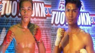 Khim Bora vs Long Samnang, Khmer Boxing TV5 18 Mar 2017 Final Tiffy Knock Out