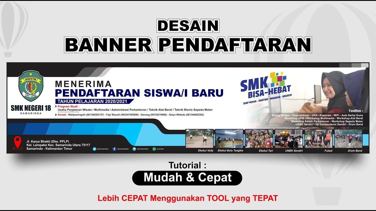 Cara Buat Banner Online - desain spanduk kreatif