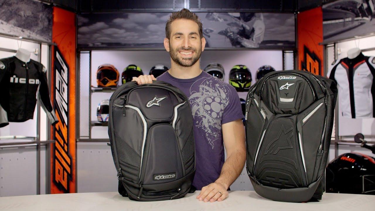 88d9cfe30a Alpinestars Tech Aero Backpack Review at RevZilla.com - YouTube