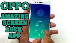 Oppo Amazing Screen Lock App