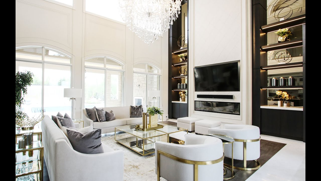 Stunning Great Room Makeover - Kimmberly Capone Interior Design