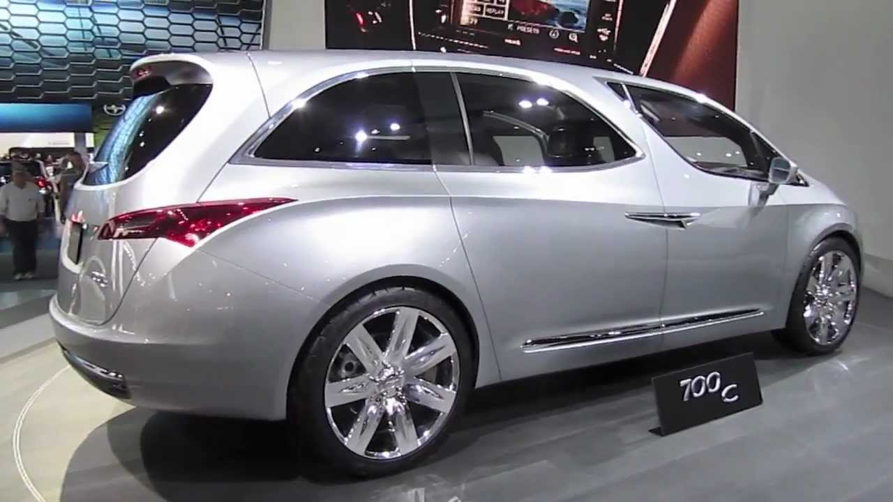 Chrysler Town And Country 2017 >> CHRYSLER 700C - CONCEPT VAN - YouTube