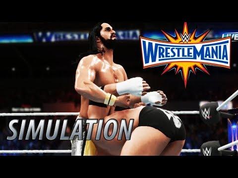 Descargar WWE 2K18 SIMULATION Seth Rollins vs Triple H Wrestlemania 33