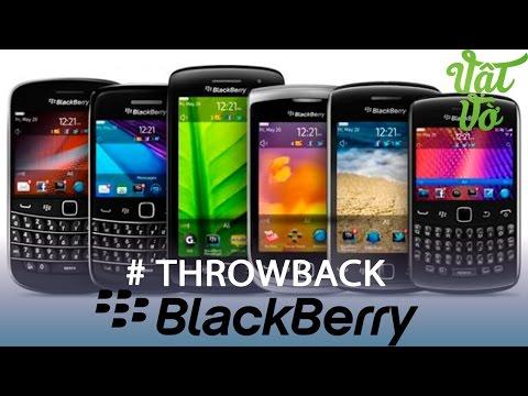 Vật Vờ| Nhìn lại những mẫu smartphone đình đám của Blackberry một thời