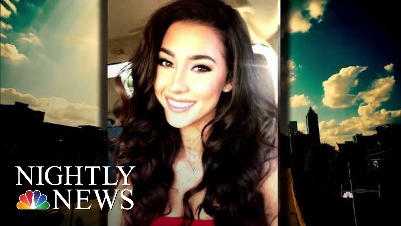 new-surveillance-video-shows-moments-before-model-s-mysterious-death-nbc-nightly-news
