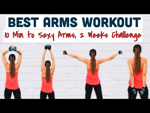 Arms Workout Best Home Exercises To Lose Arms Fat Tone Up Flabby Sagging Arms Challenge Youtube