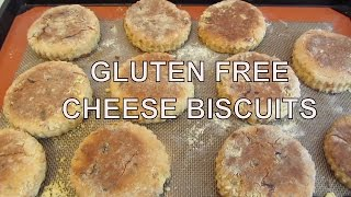 Cheddar and Parmesan Cheese Biscuits: Gluten Free