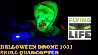 HALLOWEEN DRONE 1031 SKULL QUADCOPTER (GEARBEST.COM)