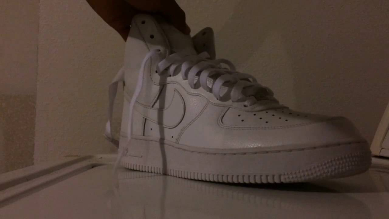 nike air force 1 white laces