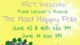 FAIRFIELD AREA COMMUNITY THEATER presents The Most Happy Fella - June 15, 16 & 17
