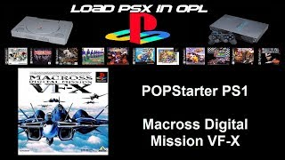 Macross Digital Mission VF-X POPStarter ps2