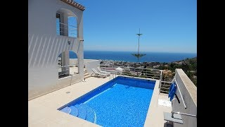 VIP7588 Luxury villa of modern style with stunning sea views, Mojacar Playa