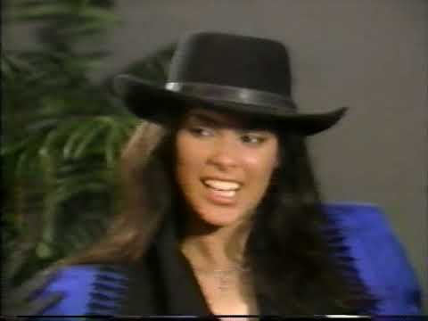 DENISE VANITY MATTHEWS interview on ET Aug. 1990