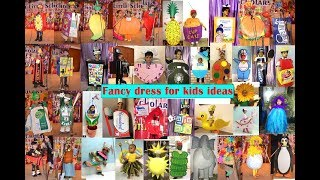Fancy dress costumes ideas fruits, vegetables , animals etc for school competitions...Part 1