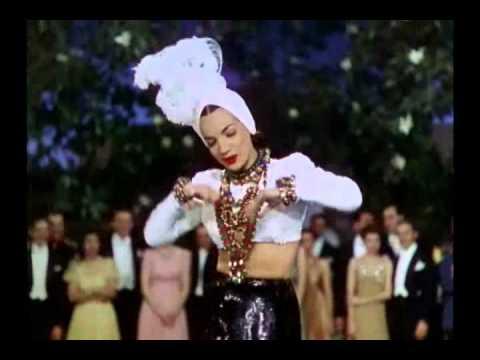 "That Night In Rio (1941) - Carmen Miranda - ""Cae Cae"""