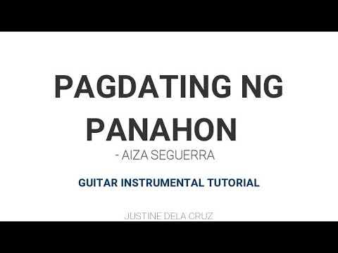 Pagdating ng panahon guitar tutorial free christian dating canada