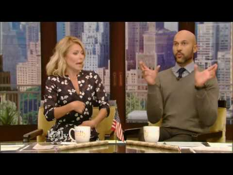 Live With Kelly and co host Keegan Michael Key, July (19 2016) Chris Pine Allison Janney
