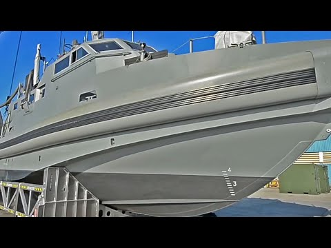 The Navy's Long Overdue Smart & Deadly Patrol Boat Has Arrived