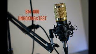 BM-800 Condenser Microphone | Unboxing & Test