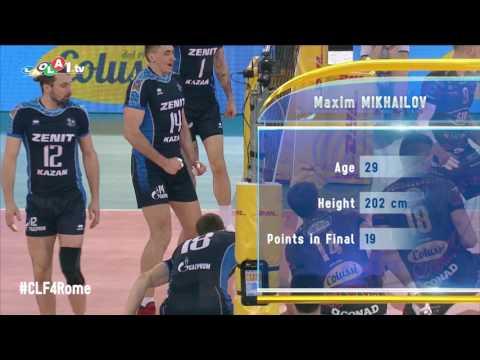 #CLF4Rome: Most Valuable Player (MVP): Maxim Mikhailov