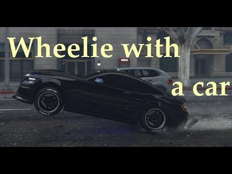 Car Wheelie Mechanics in GTA Online [Patch 1.46]