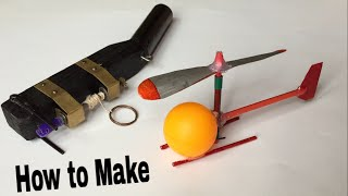 How to Make a Helicopter That Flies - Easy Way - Very Simple Helicopter - Tutorial